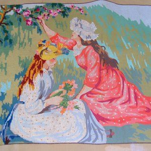 Vintage 1976 SPADEM Paris Needlework Canvas